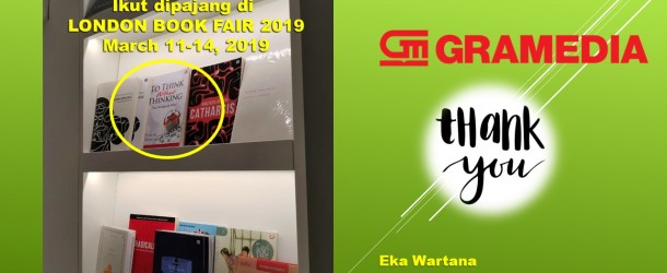 To Think Without Thinking Ikut Pameran London BF2019