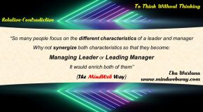 Managing Leader and Leading Manager